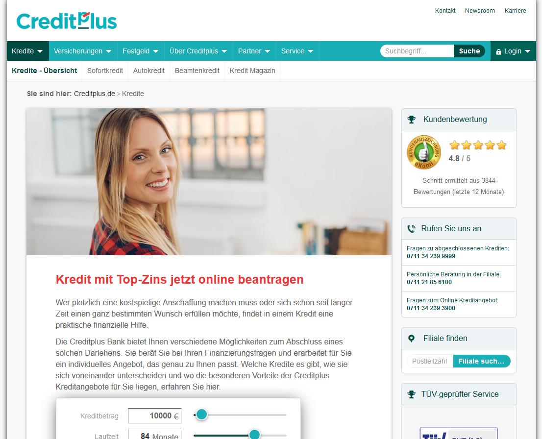 lll▷ CreditPlus Bank - Erfahrungen und Testbericht 8/8